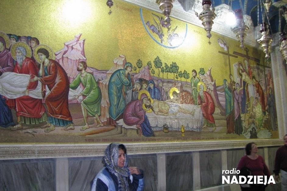 Wędrówki po Ziemi Świętej – Bazylika Bożego Grobu, miejsca spotkania ze Zmartwychwstałym