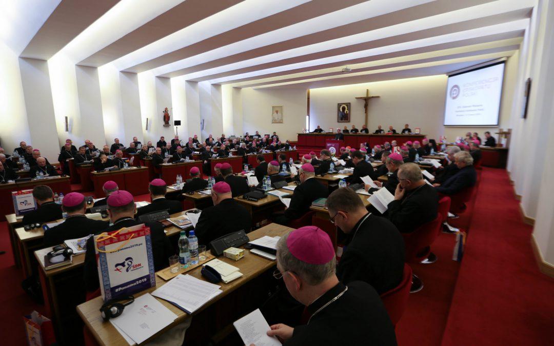 386. Zebranie Plenarne KEP: 30 lat katechezy w szkole oraz kwestie związane z koronawirusem