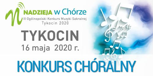"""Ogólnopolski Konkurs Muzyki Sakralnej """"Nadzieja w Chórze"""""""