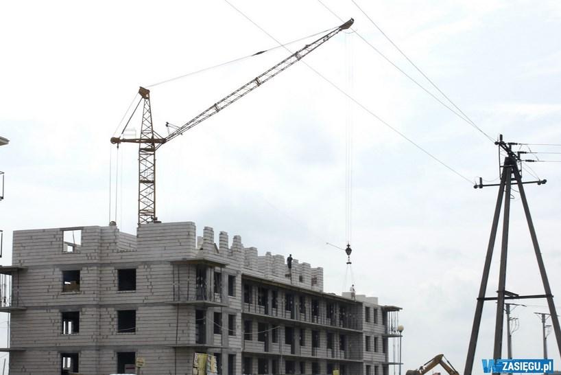 Łomża: Budowa bloków przy Staffa. ŁSM przygotowuje odpowiedź na petycje mieszkańców