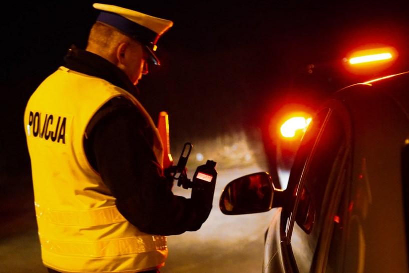 Łomża: Pijany kierowca w rękach policji