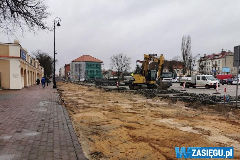 Łomża: Po świętach rozpoczną się remonty kolejnych ulic