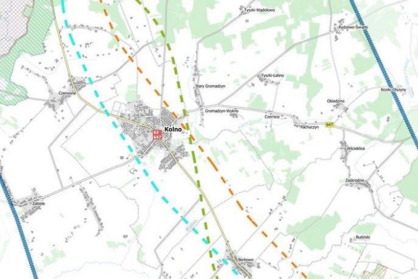 Centralny Port Komunikacyjny: Władze Kolna przyjęły wspólne stanowisko ws. przebiegu linii kolejowej