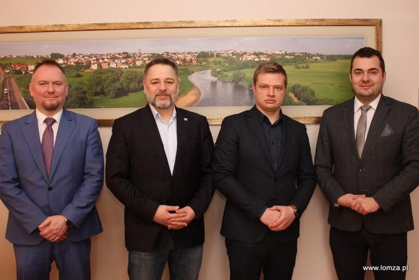 Łomża: Zrealizowany zostanie wspólny projekt z miastami i regionami partnerskimi