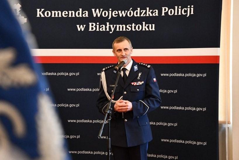 Podlaskie. Zmiany w kierownictwie Komendy Wojewódzkiej Policji [FOTO]