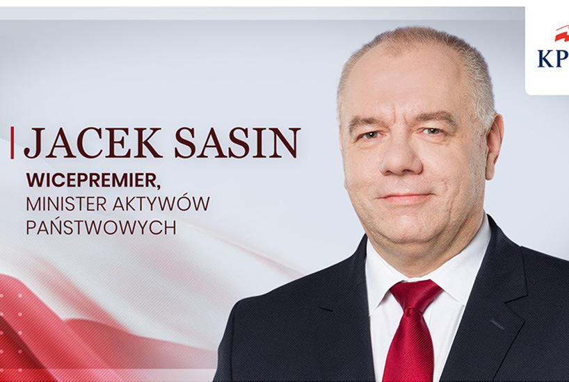 Jacek Sasin: Jest niezwykle ważne, żeby Polska miała władze skuteczne, legalne i posiadające mandat demokratyczny