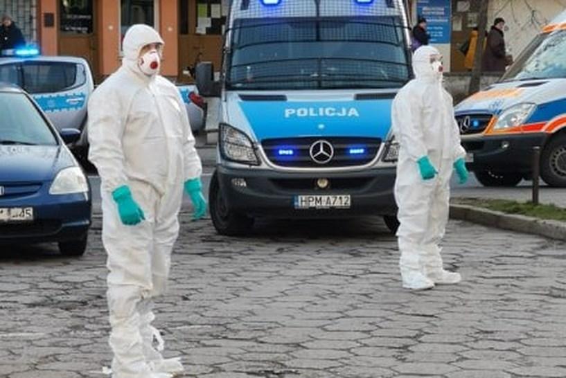 Białystok: Pacjent z grupy ryzyka uciekł ze szpitala. Interweniowała policja