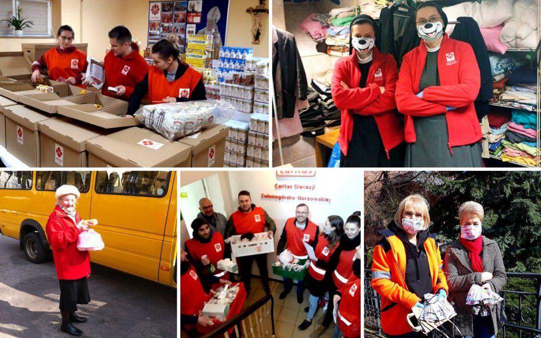 Ponad 100 tys. wolontariuszy z polskich diecezji pomaga potrzebującym