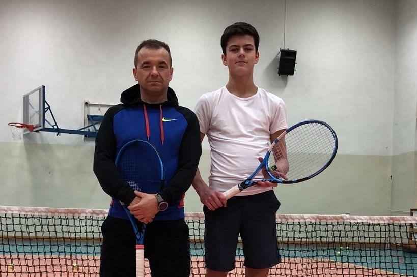 Tenis: Wiktor Kosowski na podium Ogólnopolskiego Turnieju Klasyfikacyjnego Kadetów