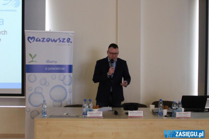 Ostrołęka: Ruszyły konsultacje nowego programu ochrony powietrza na Mazowszu [FOTO]