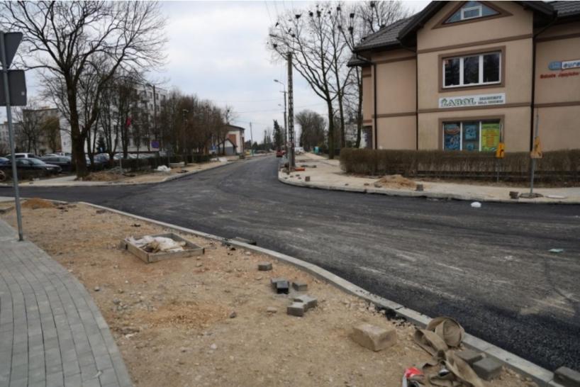 Ostrów Mazowiecka: Na ulicy Kościuszki pojawił się asfalt