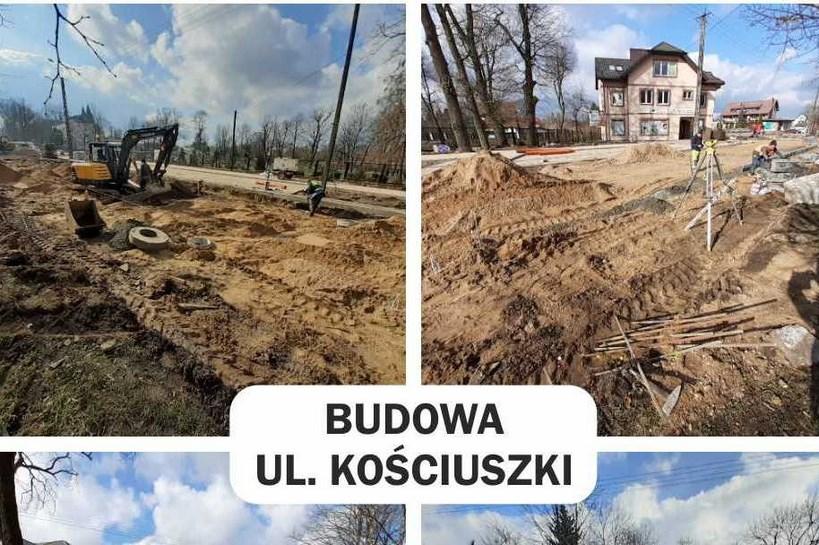 Ostrów Mazowiecka: Remont ul. Kościuszki i budowa ścieżek rowerowych