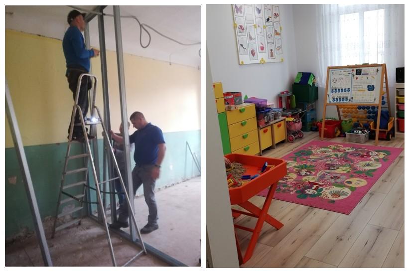 Gmina Łomża: Rodzice wyremontowali szkołę w Puchałach [FOTO]