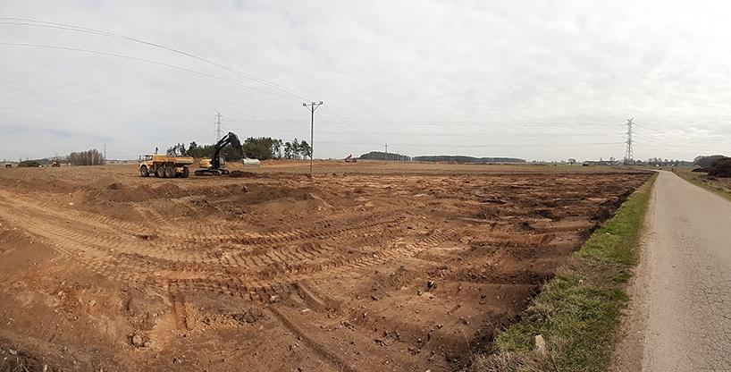 Via Baltica: Drogowcy weszli na teren budowy fragmentu S61 Szczuczyn-Ełk