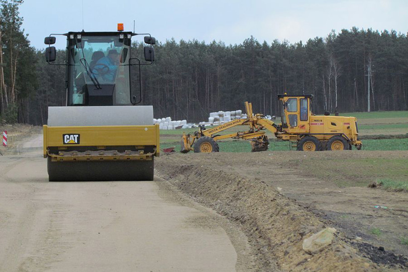 Jedwabne: Rozpoczęła się przebudowa drogi powiatowej Jedwabne – Bronaki Pietrasze