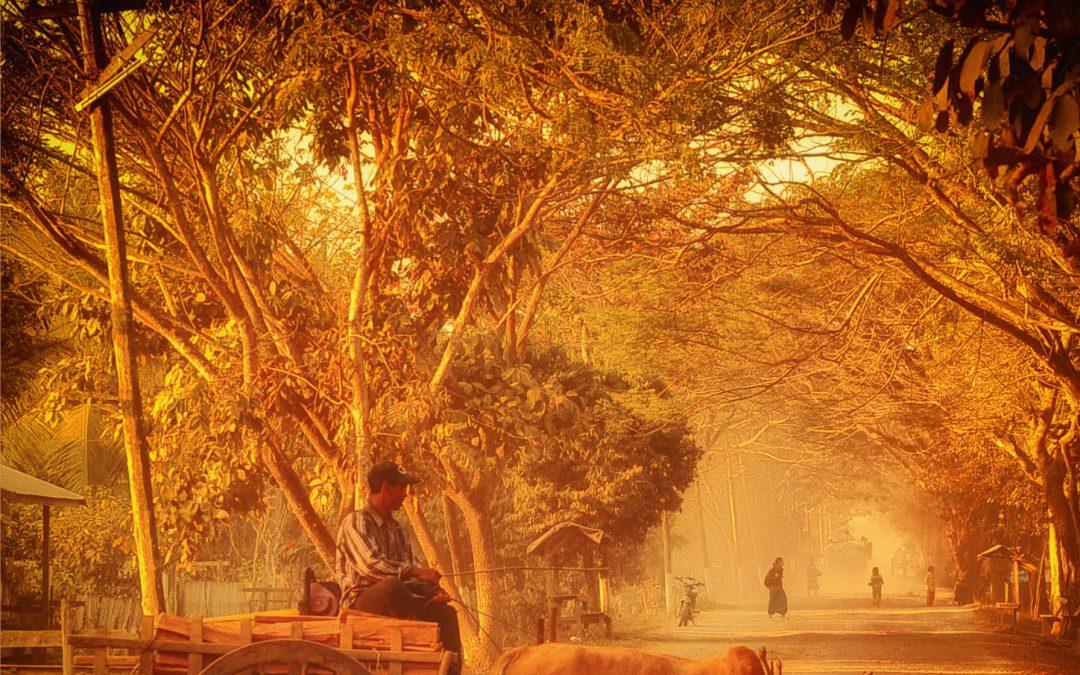 Jasne Słońce o Brzasku. Birma