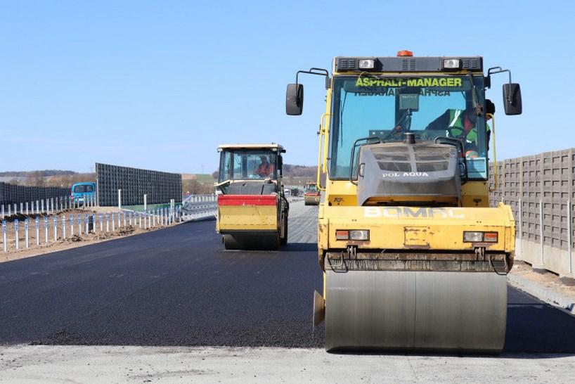 Via Baltica: Budowa II jezdni obwodnicy Szczuczyna (przyszła S61) dobiega końca