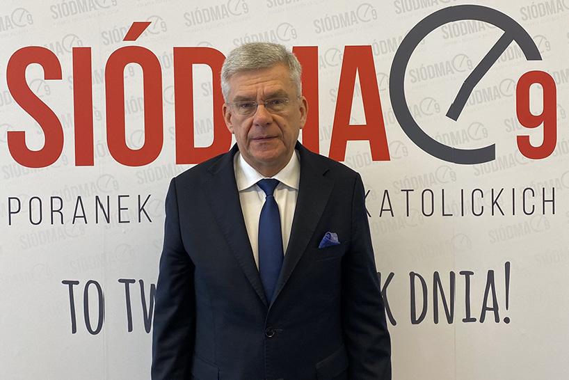 Wicemarszałek Senatu Stanisław Karczewski o konieczności przeprowadzenia wyborów