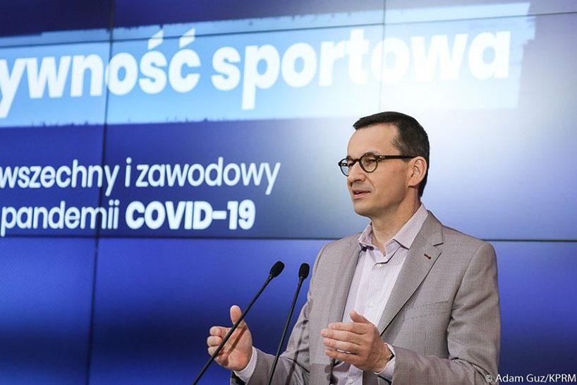 """Koronawirus: Rząd podał etapy """"odmrażania""""sportu"""