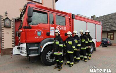 Łomża: Strażacy walczyli ze szkodami wichury