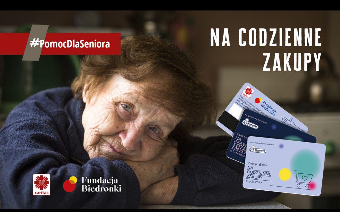 15 milionów na #PomocDlaSeniora. Akcja Caritas nabiera rozpędu.