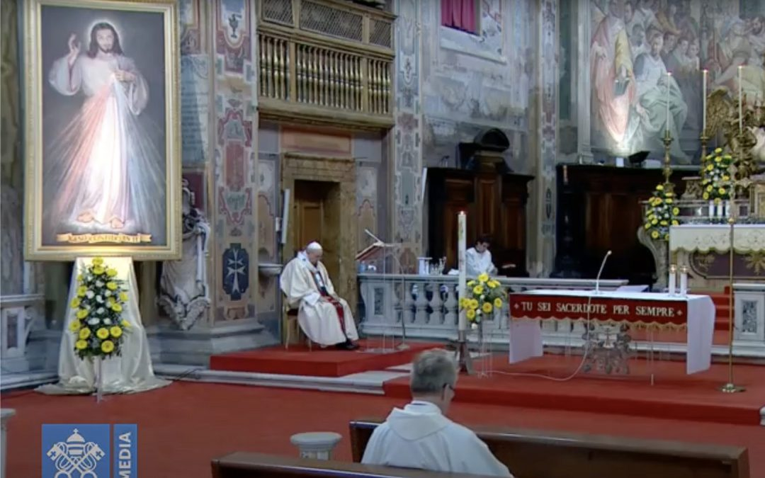 Ojciec Święty Franciszek: Bądźmy miłosierni dla tych, którzy są słabsi