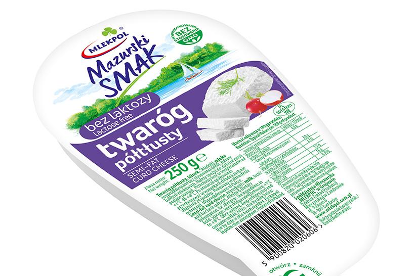 Grajewo: Wiosenna nowość Mlekpolu – twaróg półtłusty bez laktozy Mazurski Smak