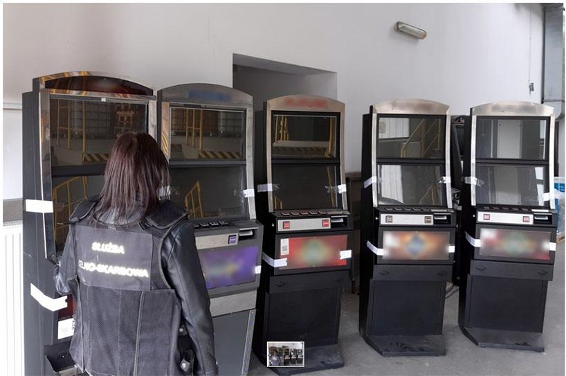 Łomża: Celny strzał w nielegalny hazard