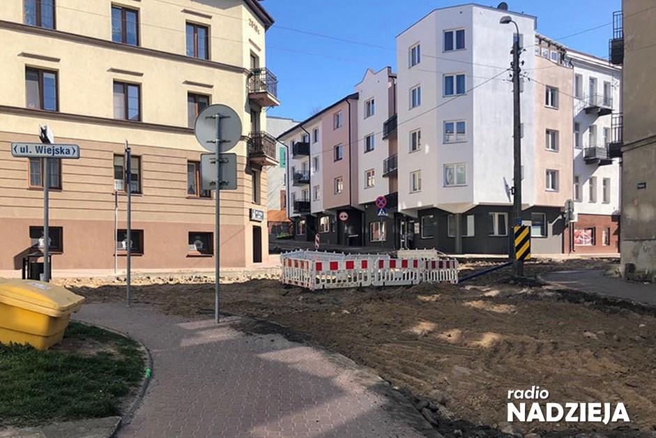 Łomża: Rozpoczął się remont ulicy Wiejskiej