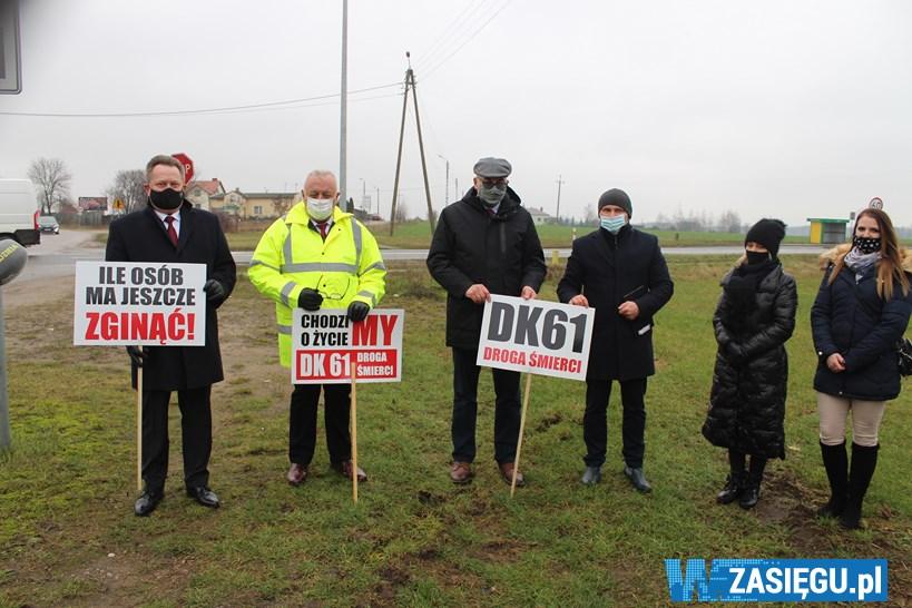 Powiat łomżyński: Skrzyżowanie w Chojnach zostanie przebudowane