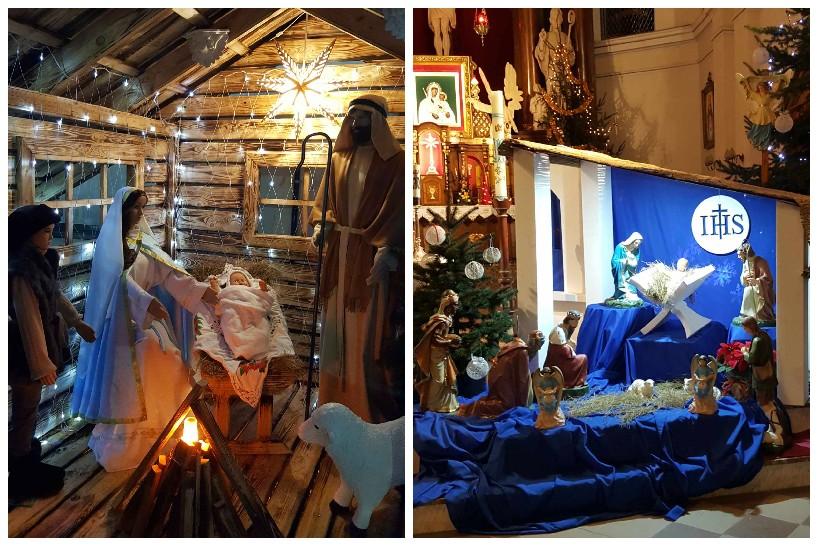 W Sanktuarium Matki Pocieszenia – Panny Małopłockiej są dwie szopki