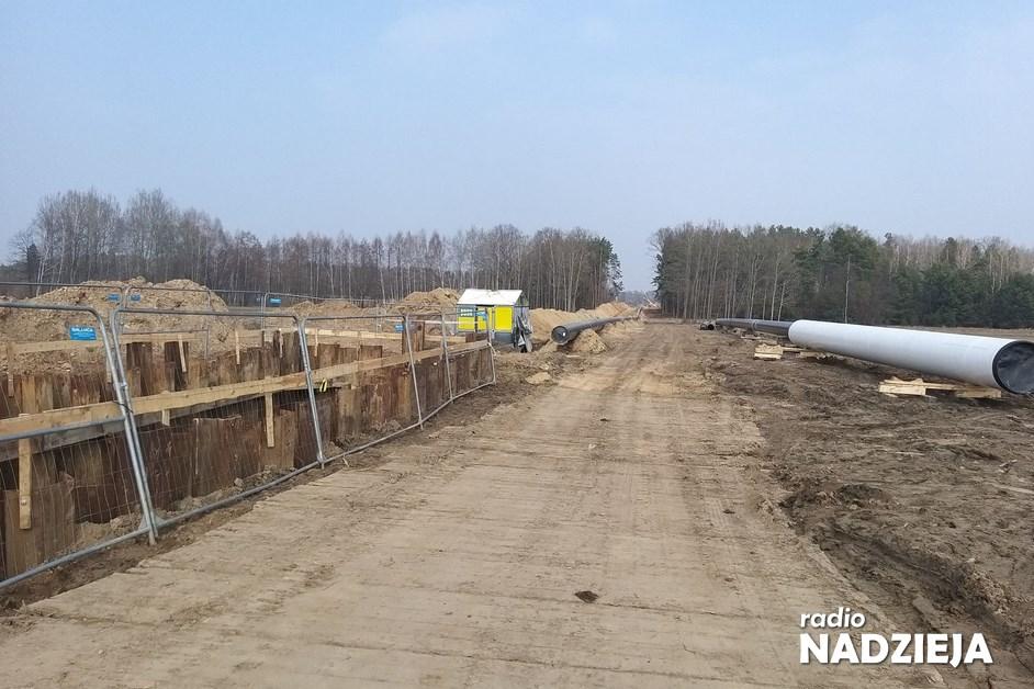 Podlaskie. W regionie trwa budowa gazociągu Polska-Litwa