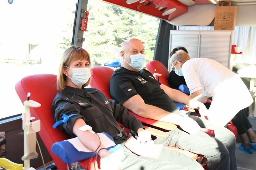 Czerwony Bór: Więziennicy oddawali krew