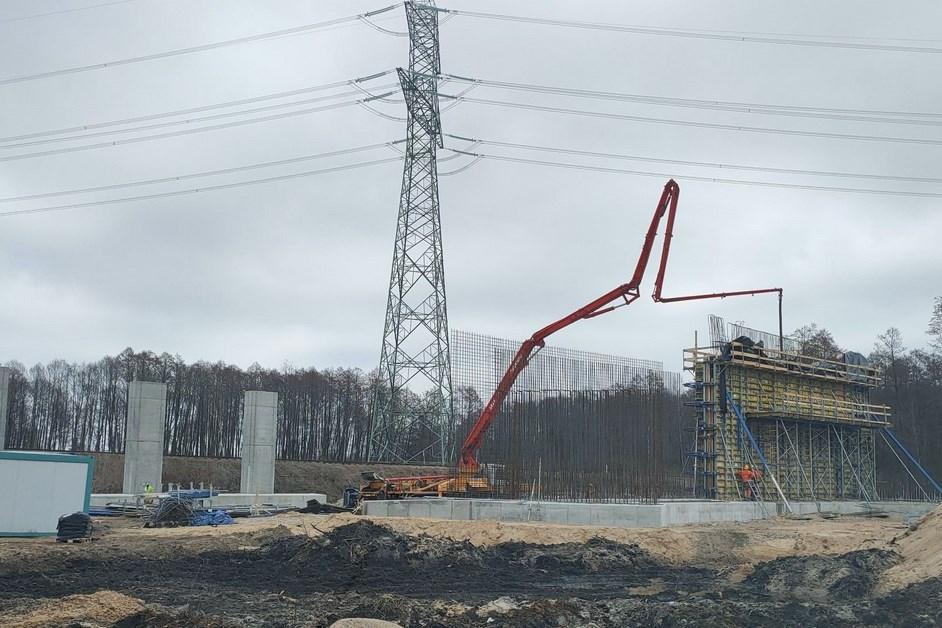 Via Baltica: Praca wre. Zajrzeliśmy na budowę fragmentu S61 Szuczyn-Ełk [VIDEO]