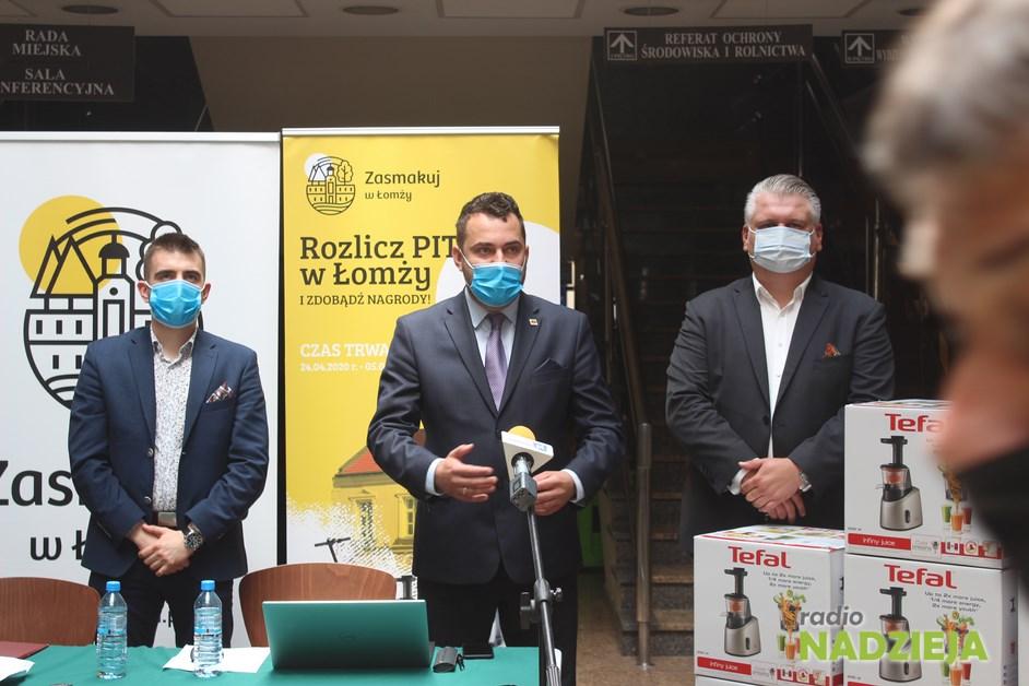 Łomża: Rusza loteria podatkowa