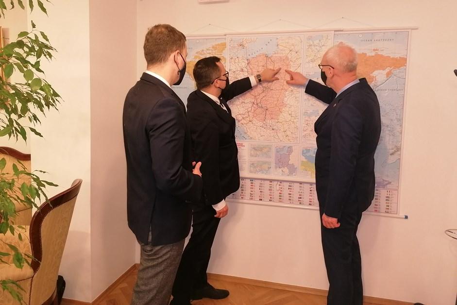 Region. Spotkanie w sprawie budowy linii kolejowej do Łomży