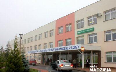 Łomża: 900 tysięcy złotych dla Szpitala Wojewódzkiego