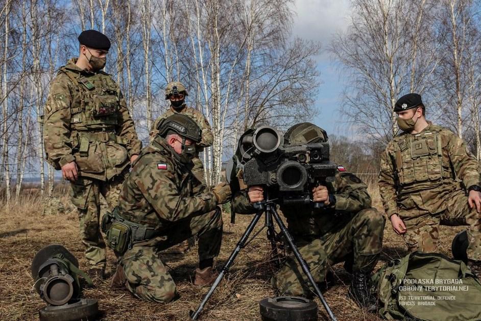 Podlaskie. Terytorialsi ukończyli kurs z zakresu bojowego wykorzystania ppk Javelin