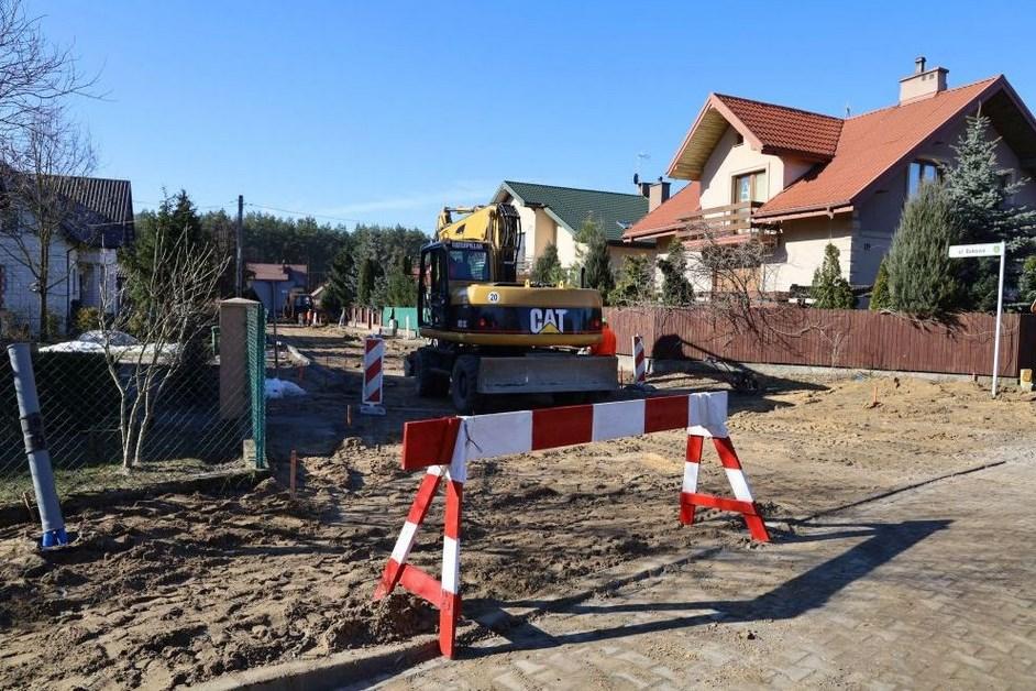 Ostrów Mazowiecka: Budowa ul. Bukowej już się rozpoczęła
