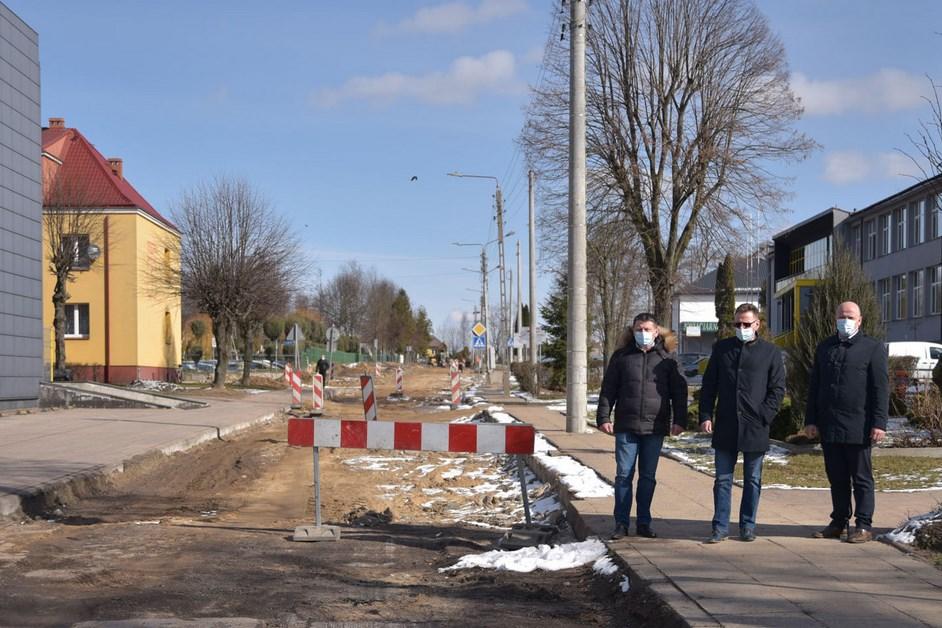 Kolno: Wznowiono prace przy budowie ulicy Konopnickiej
