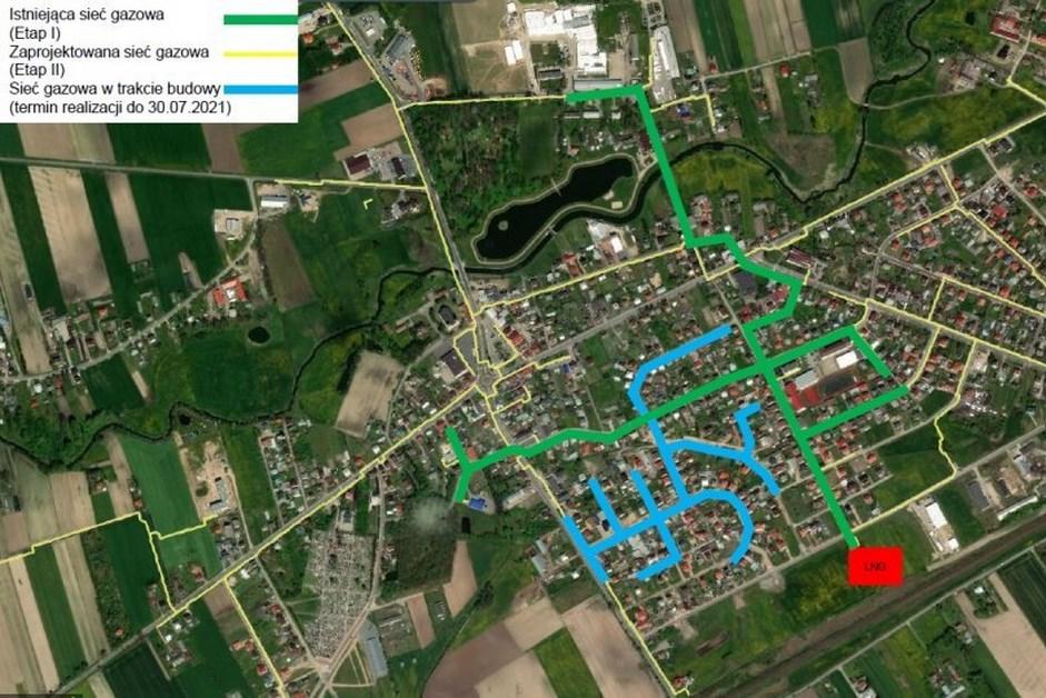 Czyżew: Trwa budowa sieci gazowej