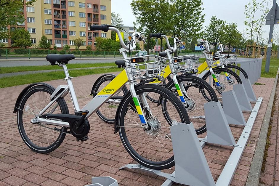 Ostrołęka: Mieszkańcy korzystają z rowerów miejskich