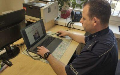 Zambrów: Policjant przestrzegał przed cyberprzemocą