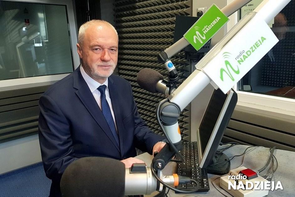 Senator Komorowski komentuje słowa marszałka Grodzkiego