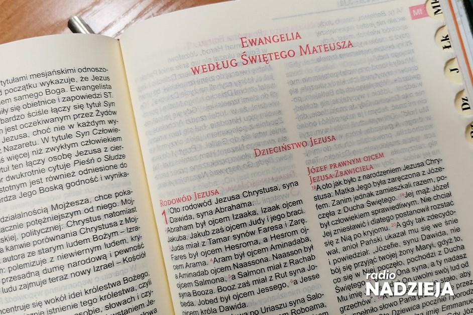 Biblia – Ewangelia wg św. Mateusza