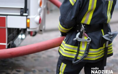 Powiat ostrołęcki: Pracowita doba dla strażaków