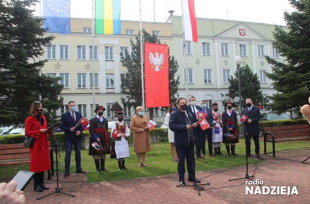 Ostrołęka: Flaga Mazowsza dostępna dla wszystkich