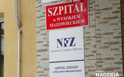 Wysokie Mazowieckie: Nowa dyrektor szpitala powołana
