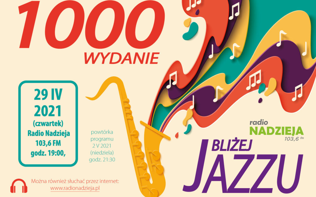 Bliżej Jazzu z 1000 audycją