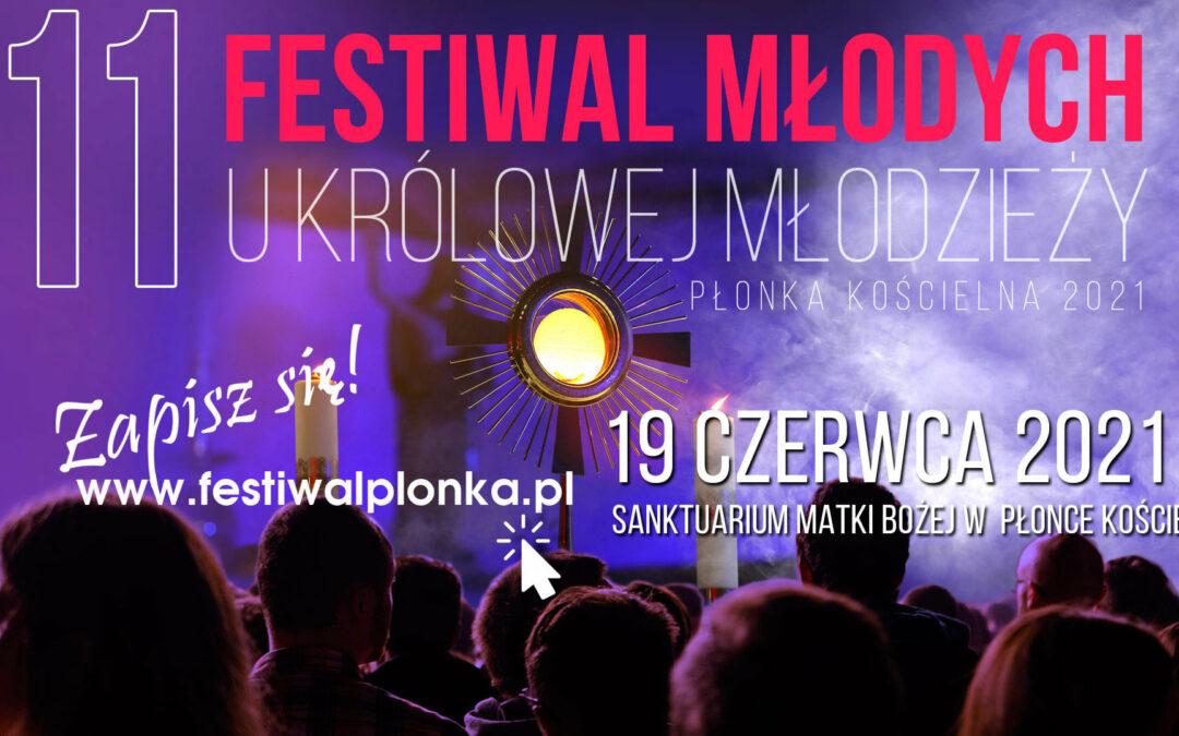 Płonka Kościelna: Zapraszamy na 11. Festiwal Młodych